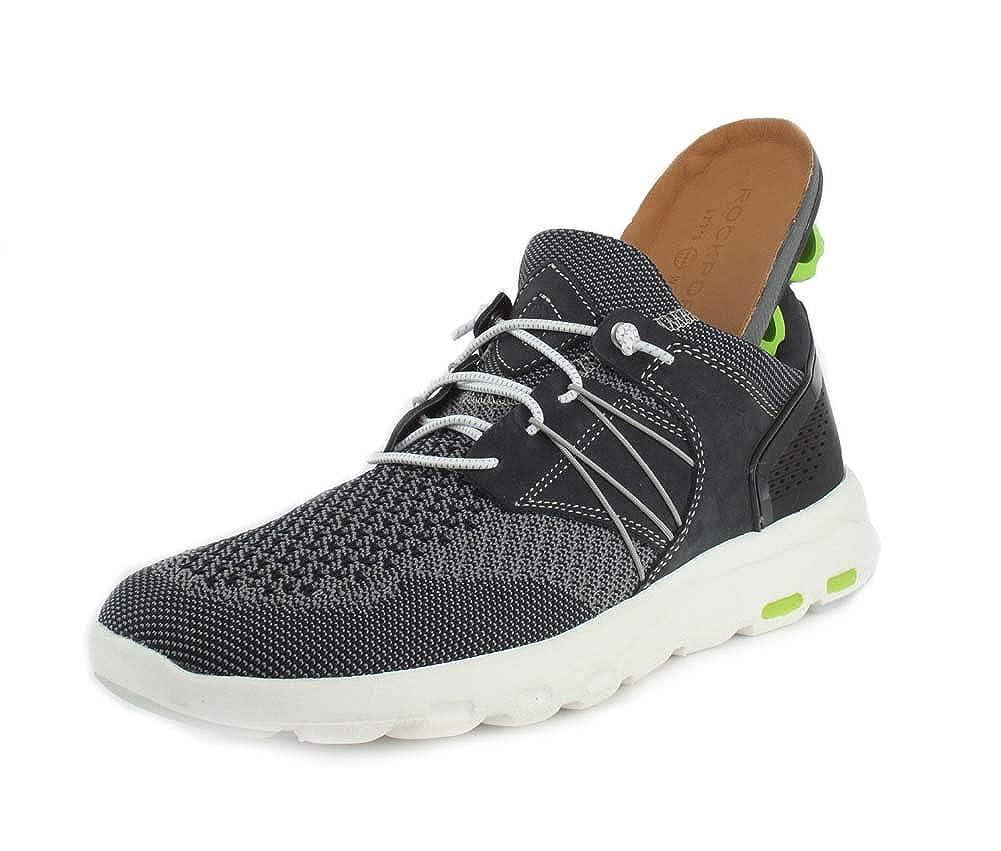 Navy Rockport Let's Walk Men's Bungee Comfort shoes