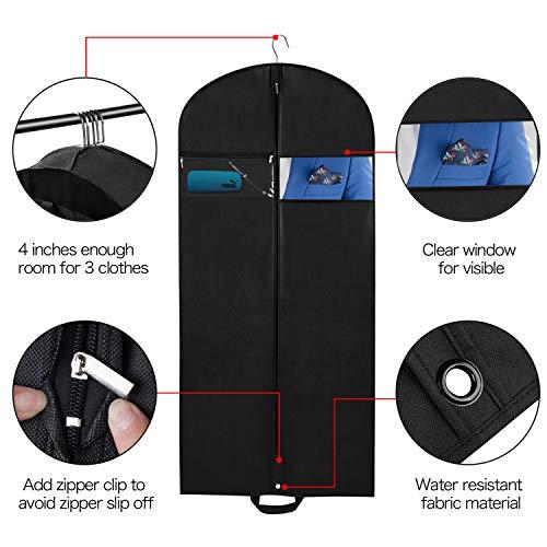 ad6c2ca98f4 Univivi Garment Bag for Travel 60