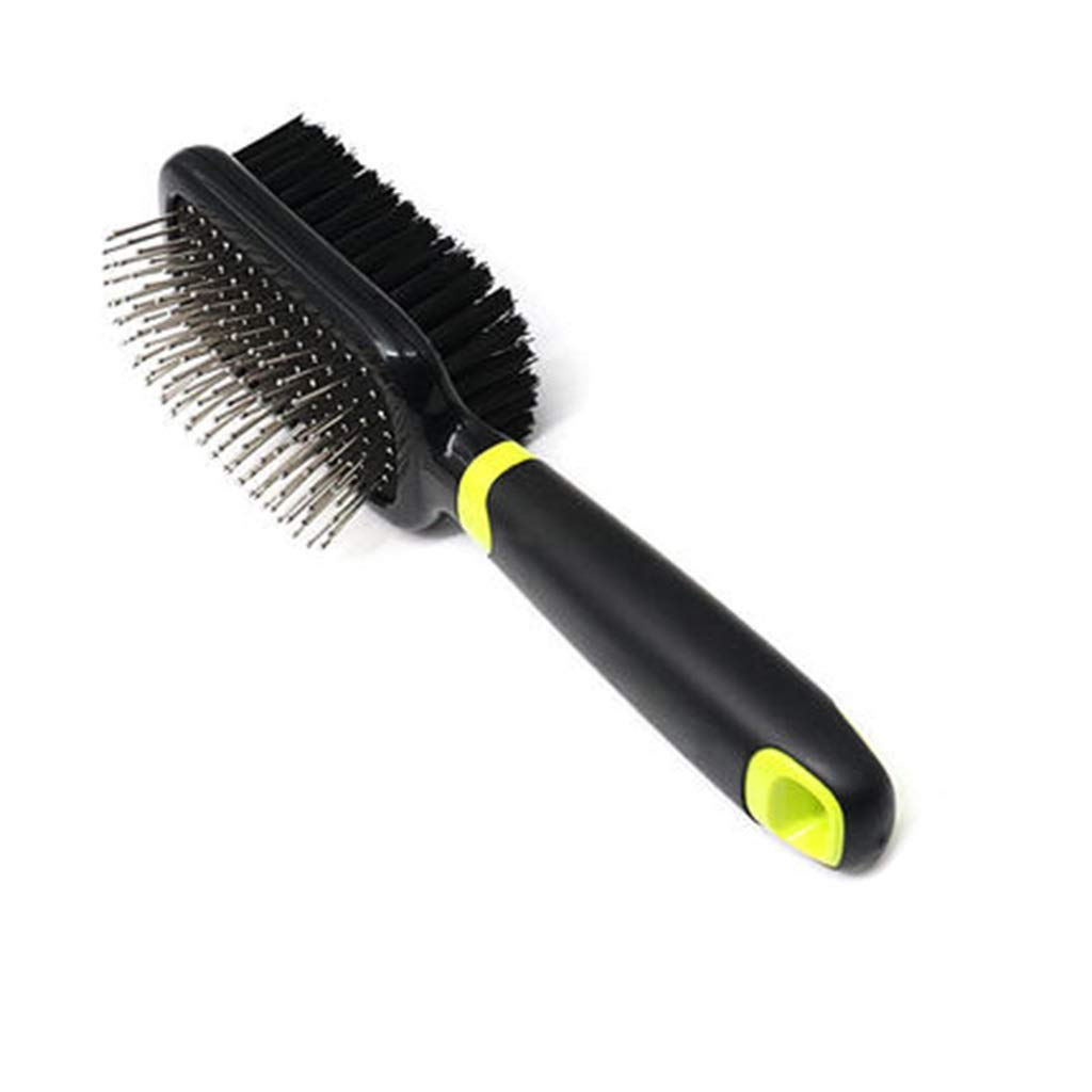 ZHPRZD Pet Brush Dog Comb Cat Brush Dog Hair Brush Steel Needle Comb Hair Removal Comb Pet Open Knot Comb