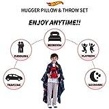 Franco Throw and Hugger Pillow Set