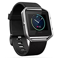 Fitbit Blaze Smart Fitness Watch Black Small (Certified Refurbished)