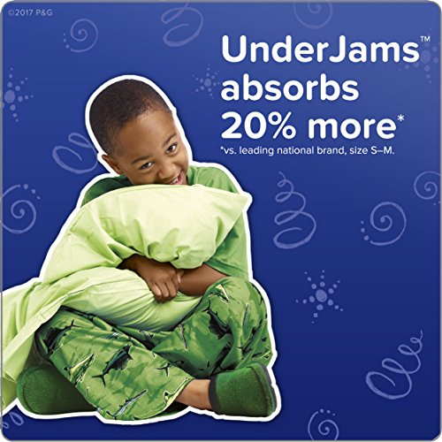 Large Product Image of Pampers UnderJams Disposable Bedtime Underwear for Boys Size L/XL, 42 Count, SUPER