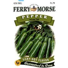 Ferry-Morse Pepper - Serrano Chili Seeds