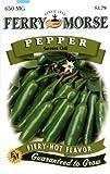 Search : Ferry-Morse Pepper - Serrano Chili Seeds