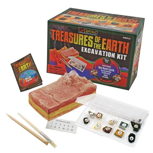 GeoCentral Excavation Dig Kit – Treasures Of The Earth