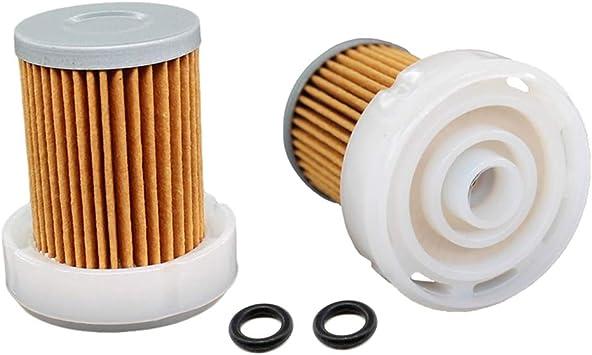 Aisen 2x Kraftstofffilter Kraftstoff Filter Für Japanparts Aixam Fc Eco078 Kubota 6a320 59930 Baumarkt