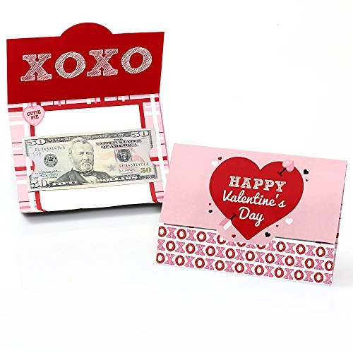 Conversation Hearts - Valentine's Day Money and Gift Card Holders - Set of (Valentines Day Card Holders)