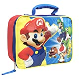 Best NINTENDO Friend Lunch Boxes - Nintendo SD29339-SC-RE00 Mario Lunch Kit Insulated, Red Review