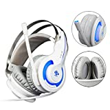 Livoty Professional Gaming Headset LED Light Earphone Headphone With Microphone
