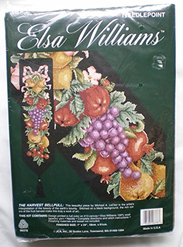 Harvest Bell Pull Elsa Williams Needlepoint Kit 06378