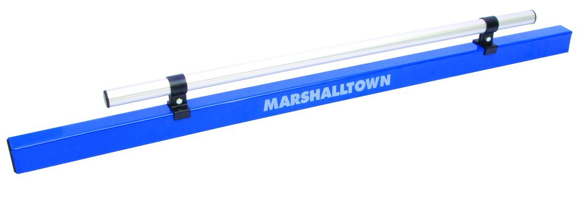 MARSHALLTOWN The Premier Line 13743 72-Inch by 2-Inch by 1-5/8-Inch Aluminum Combo Darby/Screed