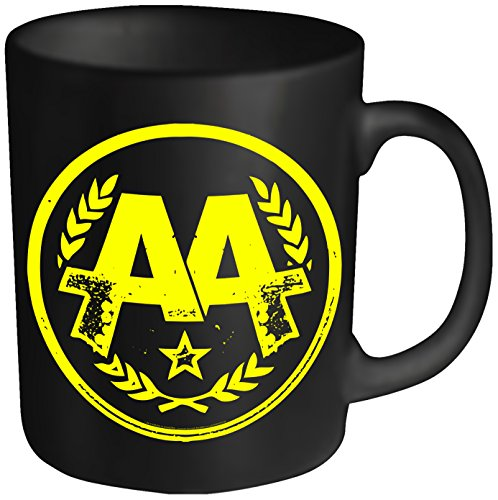 Asking Alexandria Circle AA Mug Black (Alexandria Double Handle)