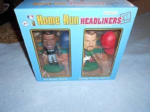 "1999 MLB Home Run Headliners XL - ""Mark McGwire and Ken Griffey Jr."""