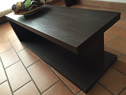 ve.ca-italy tavolino basso salotto moderno in legno wenge': amazon ... - Tavolo Soggiorno Wenge 2