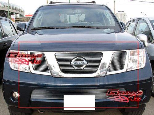 Pathfinder Billet (08-12 2012 Nissan Pathfinder Billet Grille Grill Combo Insert # N67780A)