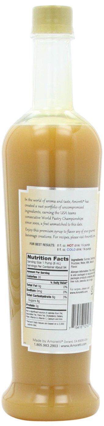 Amoretti Jarabe Premium, Chocolate blanco, onza 25,4: Amazon.es: Alimentación y bebidas