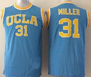 d597c9db20df Men s UCLA Bruins NO.31 MILLER Basketball Jersey NCAA Basketball ...