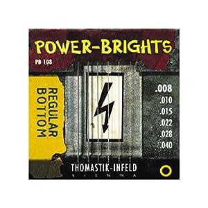 thomastik infeld pb108 electric guitar strings power brights 6 string magnecore. Black Bedroom Furniture Sets. Home Design Ideas