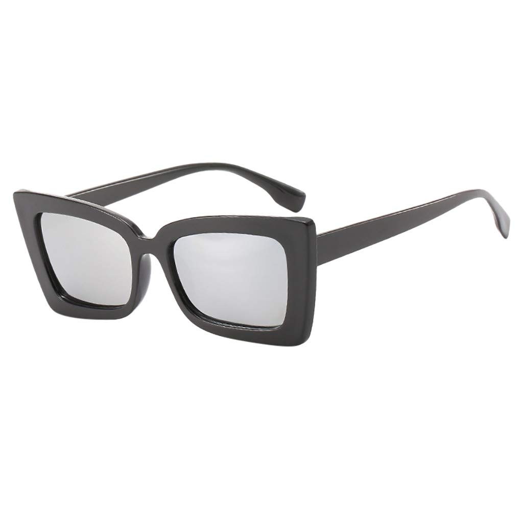 FakMe Adult Irregular Eye Sunglasses Retro Eyewear Vintage Sunglasses