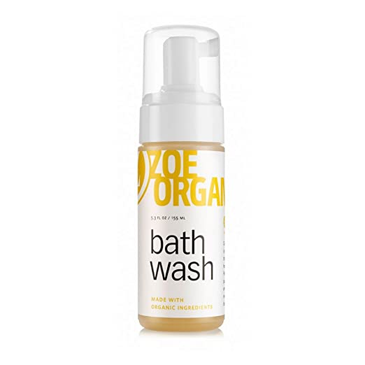Zoe Organics - Bath Wash, Old World Castile Soap Made with Pure, Organic Oils That Gently Cleanse, Safe for All Ages, Safe for Babies, Vegan, Non-GMO and Cruelty Free (5 Ounces)