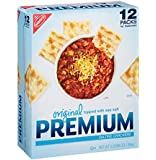 Nabisco Original Premium Saltine Crackers Topped with Sea Salt, 3 Pound (2 pack)