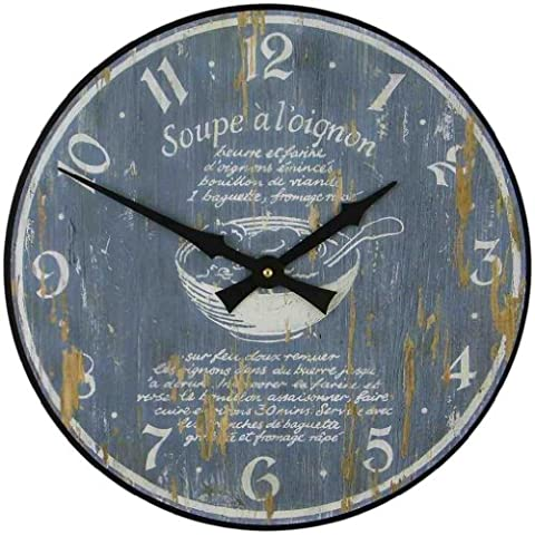 Roger Lascelles Oignon Kitchen Clock, 14.2-Inch