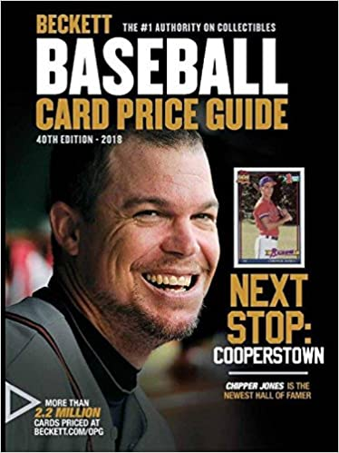 Beckett Baseball Card Price Guide 2018 Beckett Media 9781936681112