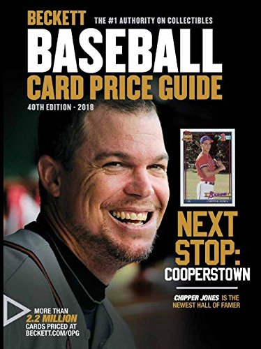Beckett Baseball Card Price Guide 2018