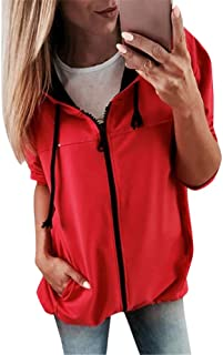 CUTUDE Pullover Ladies Womens Autumn Winter Hooded Hoodie Sweatshirt Blouse Long Sleeve Pullover Solid Casual Color Block Tops Latest 2018