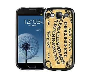 Element Amazing Samsung Galaxy S3 Case I9300 Durable Soft Silicone TPU Ouija Board Vintage Retro Design Black Phone Protective Case Cover
