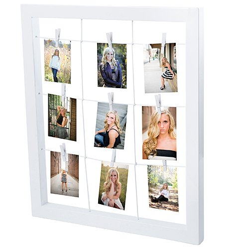 Shindigz Metal Window Clip Picture Frame