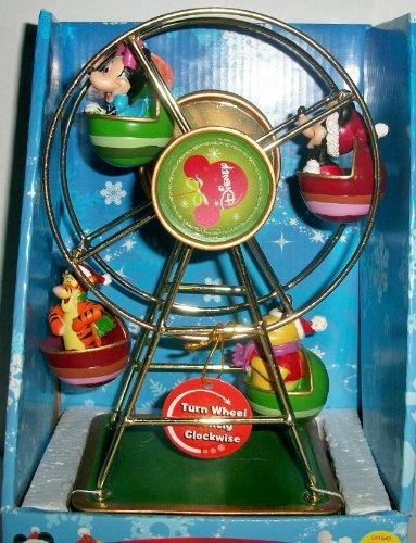 Christmas Ferris Wheel Music Box.Amazon Com Disney Revolving Musical Christmas Ferris Wheel