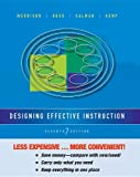 Designing Effective Instruction, Morrison, Gary R., 1118518942