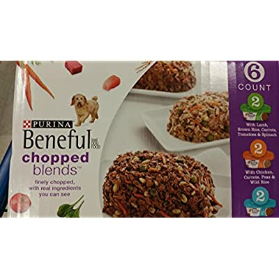 Purina Beneful Chopped Blends 6-Ready to Serve Tubs