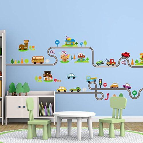 Kids Room Decor Wall Stickers Stars Home Decorating Cartoon Decals DIY Vinyl Art