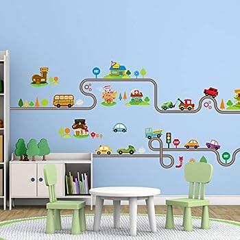 amazon com amaonm removable cute cartoon kids room wall decal diy rh amazon com kids room decorating ideas pinterest Decoration Items Made at Home