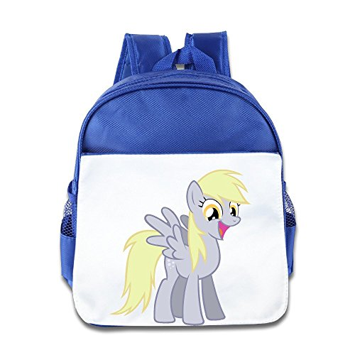 [XJBD Custom Personalized Happy Horse Boys And Girls School Backpack For 1-6 Years Old RoyalBlue] (Super Nerdy Costume)