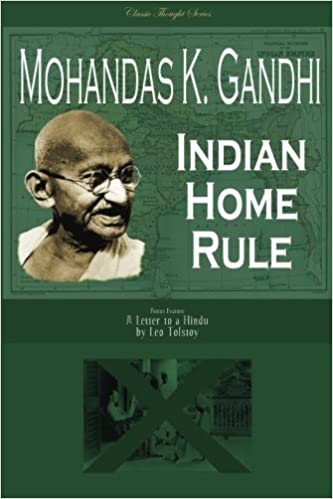 Book Indian Home Rule (Classic Thought Series)