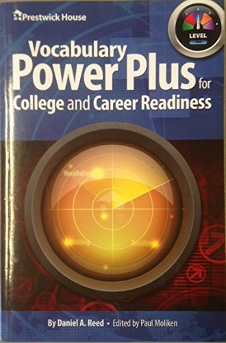 Plus Drawer - VOCABULARY POWER PLUS FOR COLLEGE AND CAREER READINESS