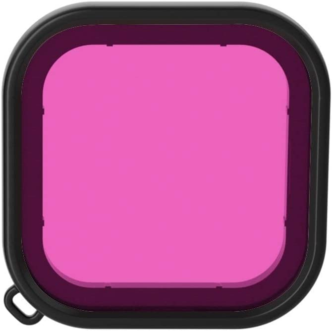 GuiPing Square Housing Diving Color Lens Filter for GoPro HERO8 Black Durable Color : Red