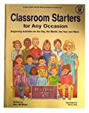 Classroom Starters for Any Occasion, Mary McMillan, 086653508X
