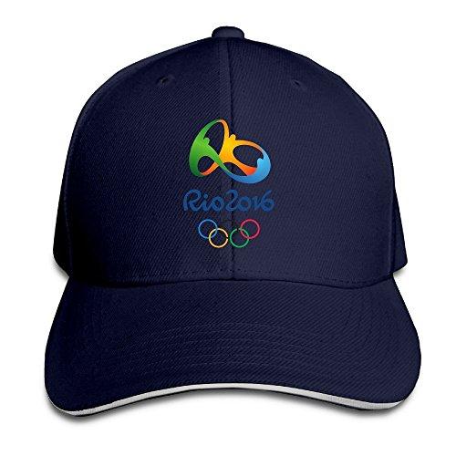 MYDT1 Unisex 2016 Rio De Janeiro Olympic Games Outdoor Sandwich Peaked Caps Hats