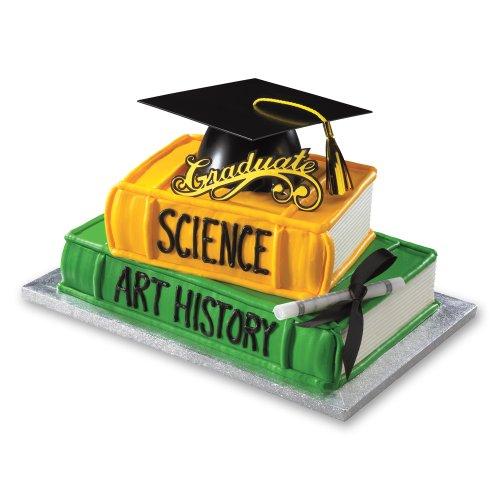 Decopac Graduation Mega Hat DecoSet Cake Topper (Graduate Hat)
