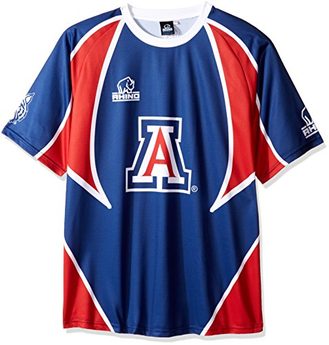 Rhino Rugby Arizona Wildcats Replica Home Jersey, X-Large (Personalized Jersey Replica Away Official)