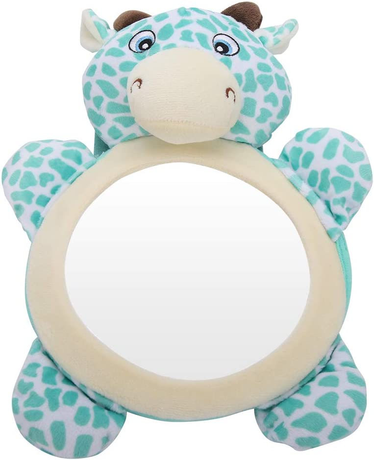 R/étroviseur s/écuritaire d/éformable clair Baby-in-view suspendu si/èges arri/ère miroirs en voiture de chaise de s/écurit/é pour b/éb/é adultes Animal