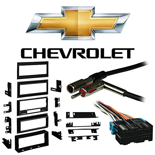 Fits Chevy S-10 Blazer 90-94 Single DIN Stereo Harness Radio Install Dash - S10 Chevrolet Dash Blazer