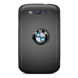 Scratch Resistant Hard Phone Case For Samsung Galaxy S3 With Customized Vivid Carbon Fiber Bmw Pattern KennethKaczmarek