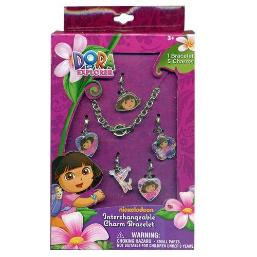 Dora the Explorer Add A Charm Box Set Dora The Explorer Jewelry