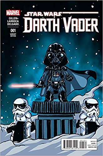 STAR WARS DARTH VADER #1 SKOTTIE YOUNG VARIANT COVER 2017 DARK SITH MARVEL