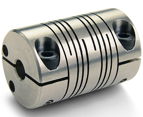 FCR16-5-4-SS Beam Coupling Ruland Manufacturing Co Inc FCR16-5-4-SS Clamp Type 0.313 Bore X 0.250 Bore